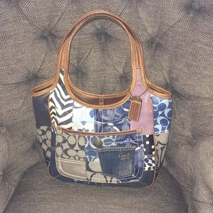 Cool detailed coach purse